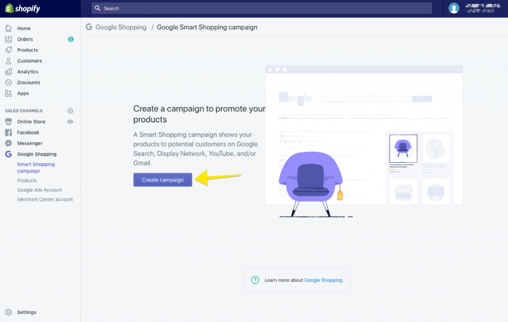 google smart shopping campaigns