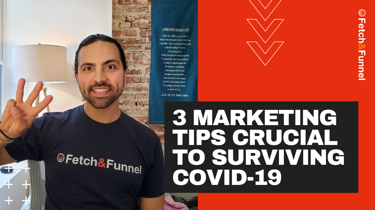 Read more about the article 3 Best Marketing Tips Every Business Needs During COVID-19