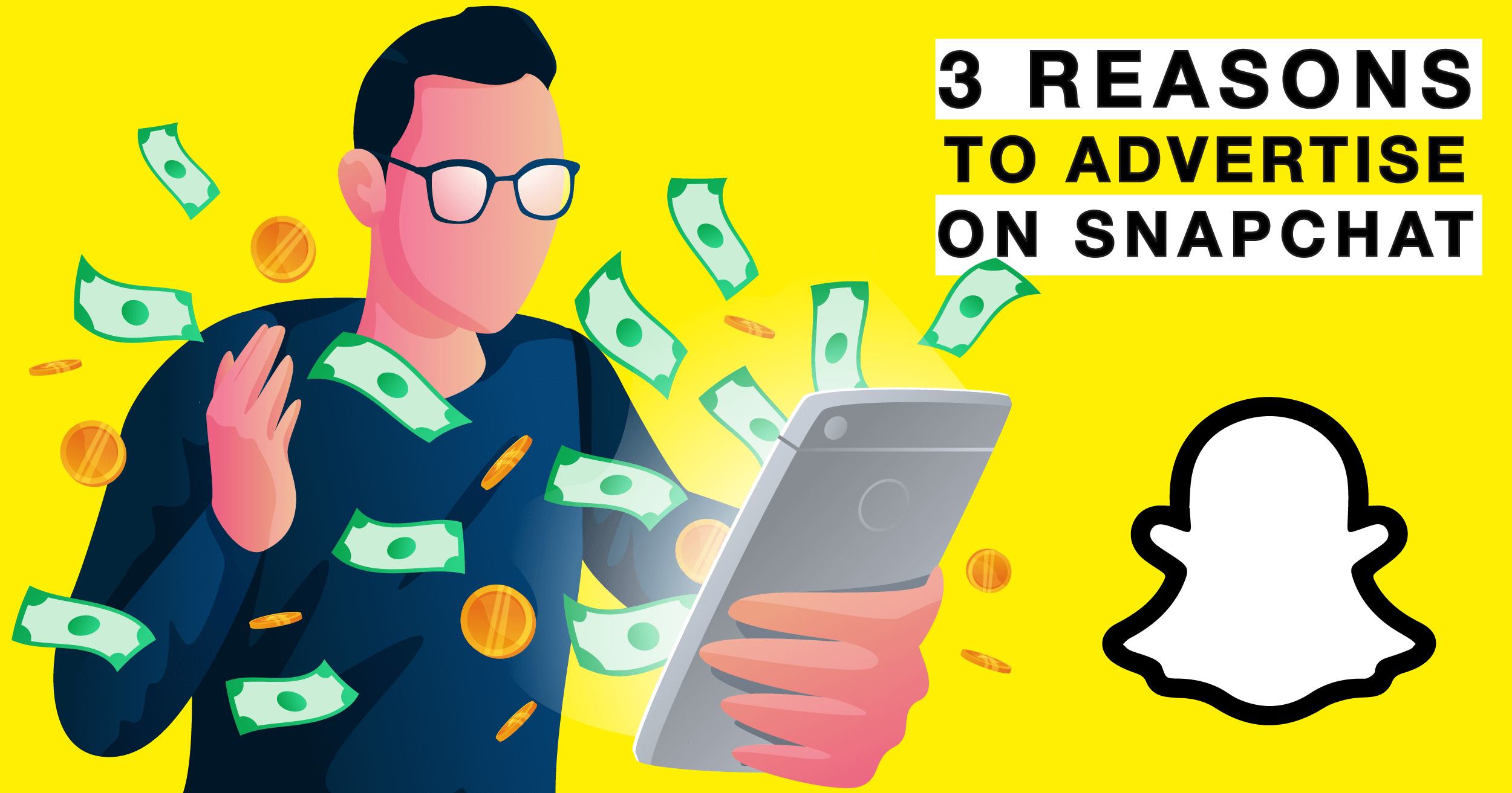 Read more about the article 3 Reasons Why You Need To Advertise On Snapchat