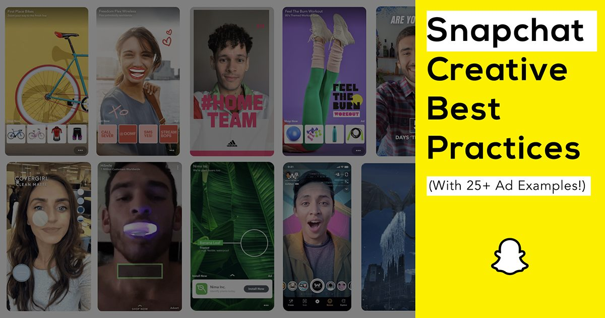 Read more about the article Snapchat Ad Creative: The 3 Golden Rules (with 25+ Examples!)