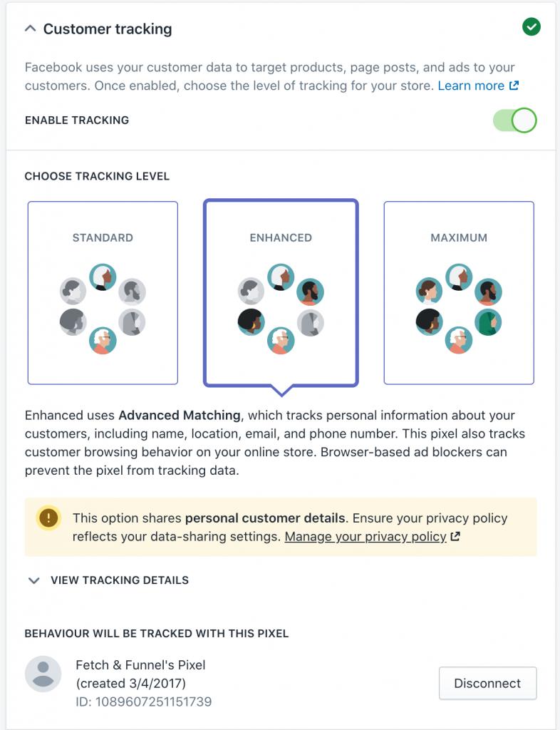 Facebook Pixel on Shopify