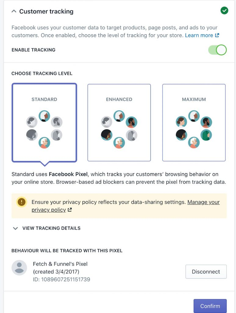 Shopify Facebook Tracking